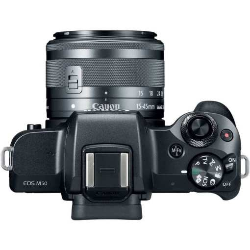 ede5c510 30e1 4113 a80f 7537062a61e4 - Canon EOS M50 Mirrorless Camera Kit w/ EF-M15-45mm Lens and 4K Video (Black)