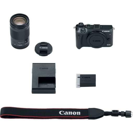 04261574 6e11 4eec b8f2 e7e7ebdbef31 - Canon EOS M6 18-150mm f/3.5-6.3 IS STM Kit (Black)