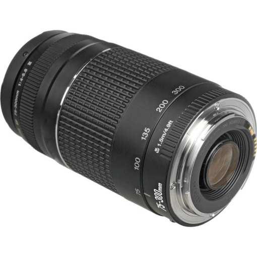 2c2f047d 24ef 47c5 97d1 c47d2611256a - Canon Zoom Telephoto EF 75-300mm f/4.0-5.6 III Autofocus Lens