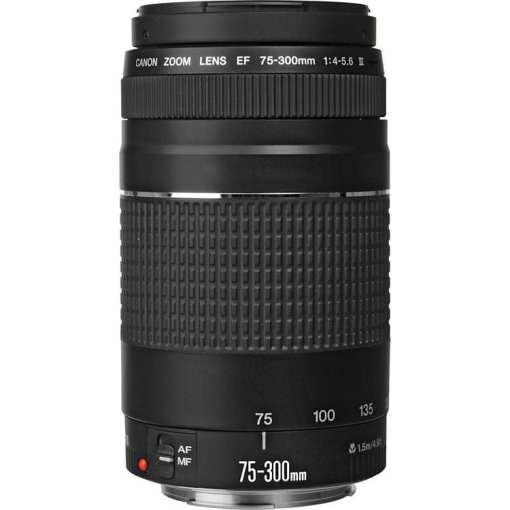 34062f6f 4ac7 4c37 b402 8f7c552d425f - Canon Zoom Telephoto EF 75-300mm f/4.0-5.6 III Autofocus Lens