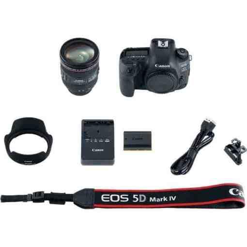 5d3956e1 8889 4841 8162 2edb1e1fde1b - Canon EOS 5D Mark IV Full Frame Digital SLR Camera with EF 24-70mm f/4L IS USM Lens Kit