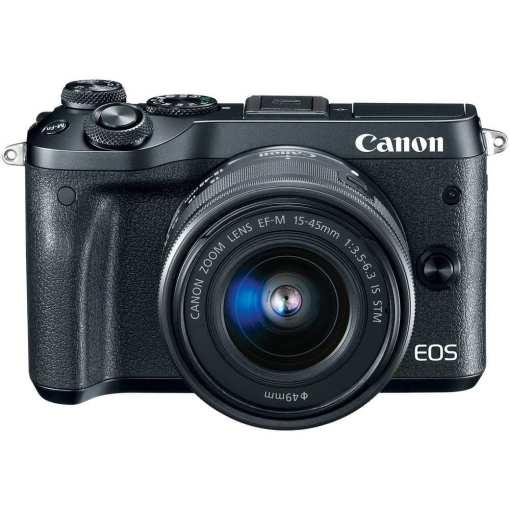 6ea3c09b 9dc0 4e50 8996 738e13005ad4 - Canon EOS M6 EF-M 15-45mm f/3.5-6.3 IS STM Lens Kit (Black)