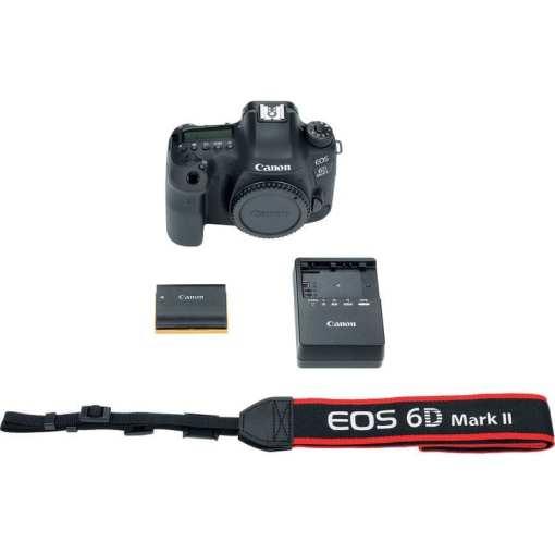 Canon EOS 6D Mark II DSLR Camera Body Only 06 - Canon EOS 6D Mark II DSLR Camera (Body) Wi-Fi Enabled