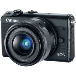 Canon EOS M100 Mirrorless Digital Camera with 15 45mm Lens Black 01 - Canon EOS M100 Mirrorless Digital Camera with 15-45mm Lens (Black)