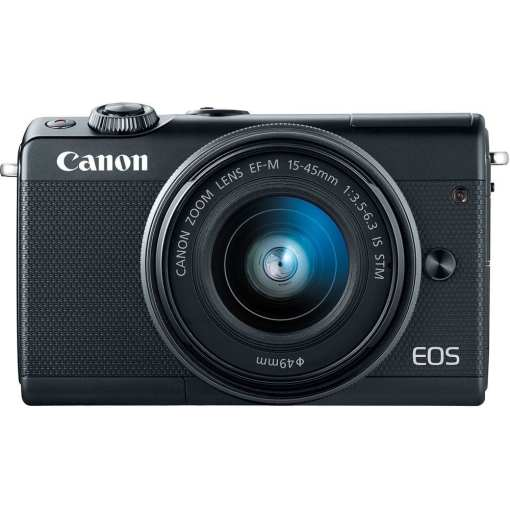 Canon EOS M100 Mirrorless Digital Camera with 15 45mm Lens Black 04 - Canon EOS M100 Mirrorless Digital Camera with 15-45mm Lens (Black)