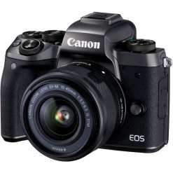 Canon EOS M5 Mirrorless Digital Camera with 15 45mm Lens 01 - Sale