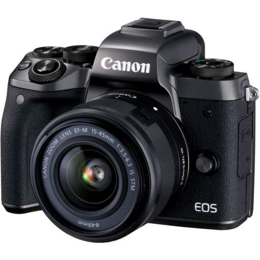 Canon EOS M5 Mirrorless Digital Camera with 15 45mm Lens 01 - Canon EOS M5 EF-M 15-45mm f/3.5-6.3 IS STM Lens Kit