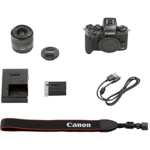 Canon EOS M5 Mirrorless Digital Camera with 15 45mm Lens 011 - Canon EOS M5 EF-M 15-45mm f/3.5-6.3 IS STM Lens Kit
