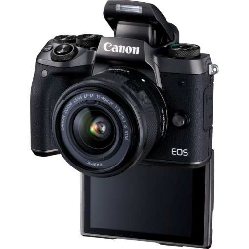 Canon EOS M5 Mirrorless Digital Camera with 15 45mm Lens 03 - Canon EOS M5 EF-M 15-45mm f/3.5-6.3 IS STM Lens Kit