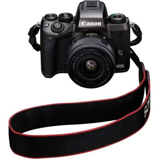 Canon EOS M5 Mirrorless Digital Camera with 15 45mm Lens 09 - Canon EOS M5 EF-M 15-45mm f/3.5-6.3 IS STM Lens Kit