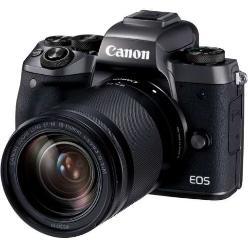 Canon EOS M5 Mirrorless Digital Camera with 18 150mm Lens 01 - Canon EOS M5 EF-M 18-150mm f/3.5-6.3 IS STM Lens Kit