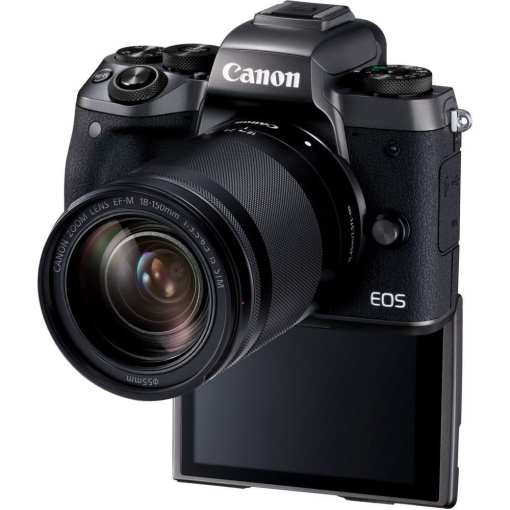 Canon EOS M5 Mirrorless Digital Camera with 18 150mm Lens 04 - Canon EOS M5 EF-M 18-150mm f/3.5-6.3 IS STM Lens Kit