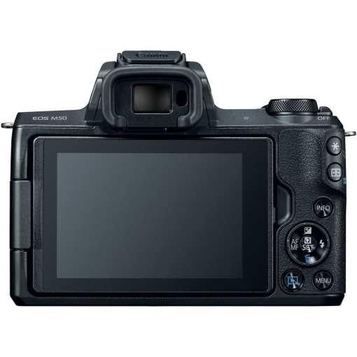 Canon EOS M50 Mirrorless Digital Camera Body Only Black 02 - Canon EOS M50 Mirrorless Camera Body w/ 4K Video (Black)