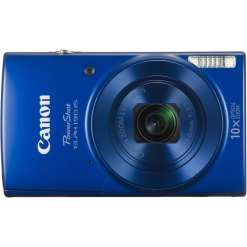 Canon PowerShot ELPH 190 IS Digital Camera Blue 02 - Canon PowerShot ELPH 190 IS with 10x Optical Zoom and Built-In Wi-Fi (Blue)
