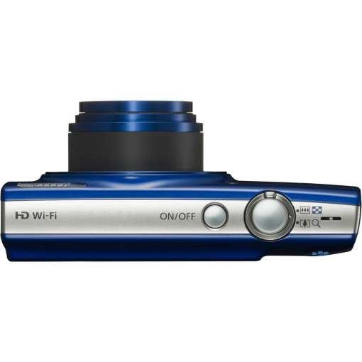 Canon PowerShot ELPH 190 IS Digital Camera Blue 06 - Canon PowerShot ELPH 190 IS with 10x Optical Zoom and Built-In Wi-Fi (Blue)