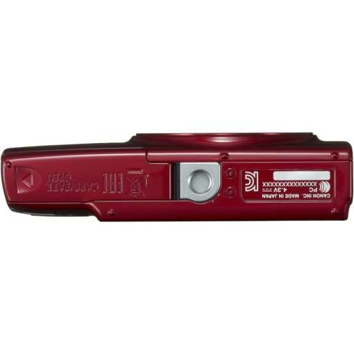 Canon PowerShot ELPH 190 IS Digital Camera Red 07 - Canon PowerShot ELPH 190 IS with 10x Optical Zoom and Built-In Wi-Fi (Red)