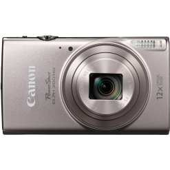 Canon PowerShot ELPH 360 HS Digital Camera Silver 02 - Canon PowerShot ELPH 360 HS with 12x Optical Zoom and Built-In Wi-Fi (Silver)