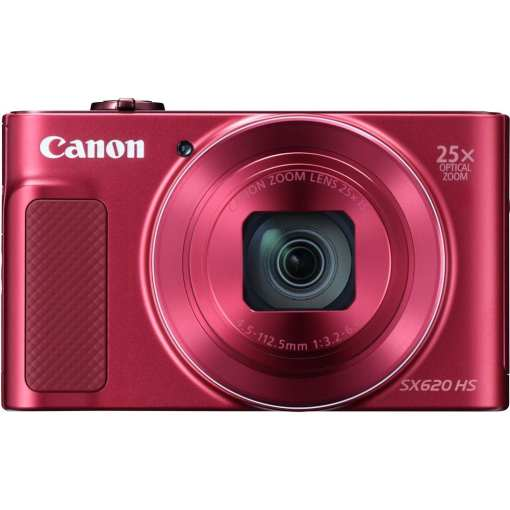 Canon PowerShot SX620 HS Digital Camera Red 04 - Canon PowerShot SX620 Digital Camera w/25x Optical Zoom - Wi-Fi & NFC Enabled (Red)