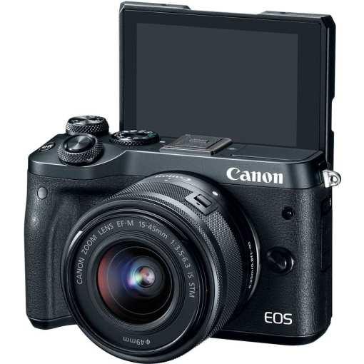 a641dec5 0f27 4d45 af1d 413c07c90cb4 - Canon EOS M6 EF-M 15-45mm f/3.5-6.3 IS STM Lens Kit (Black)