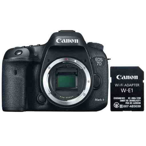 e5133dbf c8f1 428d 85f3 1bc610b2bb8f - Canon EOS 7D Mark II Digital SLR Camera Body Wi-Fi Adapter Kit