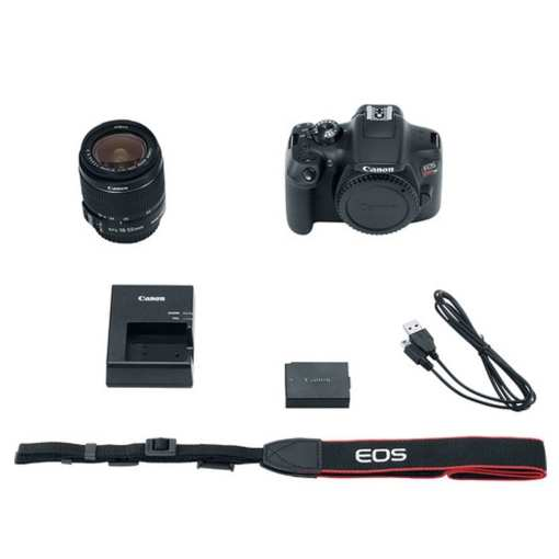 2450743d 012a 4d83 89d1 1420ed61b8b9 - Canon EOS Rebel T6 SLR Camera 18-55mm + 32GB + Dummies Book - Bundle