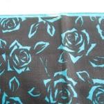 青バラスカーフ3