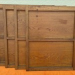小さな木製引戸1
