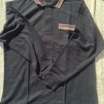 メンズ長袖ポロシャツ3
