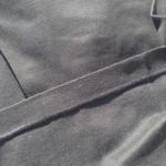 メンズ長袖シャツ黒5
