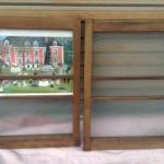 ガラス割れ窓枠2