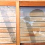 透明ガラス引き違い戸5