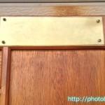 大きな木製扉4