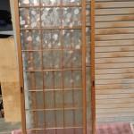 丸タイル模様ガラス戸2