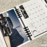 BMWミニ2017卓上カレンダー3月