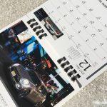 BMWミニ2017卓上カレンダー12月