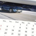 BMWミニ2017カレンダー2月