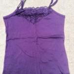 見せキャミ紫2