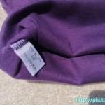 見せキャミ紫4