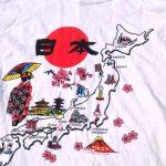 日本Tシャツキッズ用イラスト