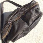 革製ミニショルダーバッグ茶色3