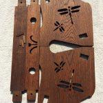 木製ブックスタンドパーツ
