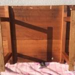 木製作業机2