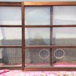 透明ガラス引き違い戸変則サイズ2
