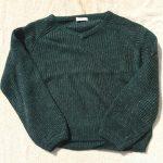 ローリーズファームVネックセーター2