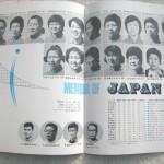 ミュンヘンオリンピック日本代表女子バレーボールチーム紅白試合2