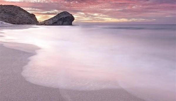 Amanecer en Playa de El Mónsul