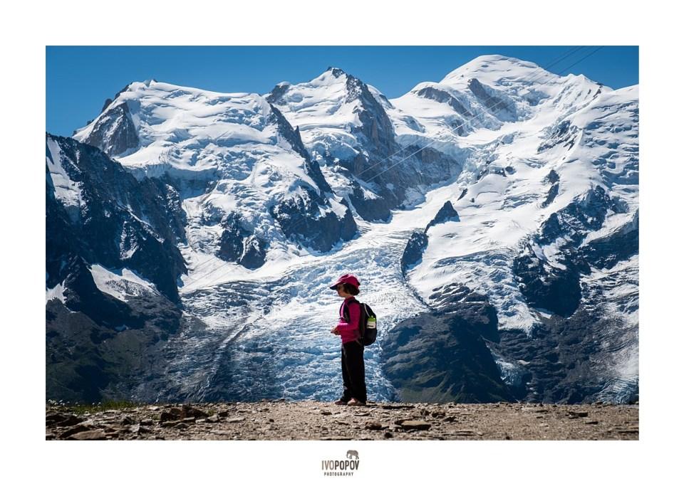 photo session in Chamonix