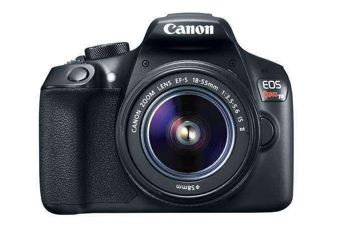 Canon T6/EOS 1300D Review Front Lens