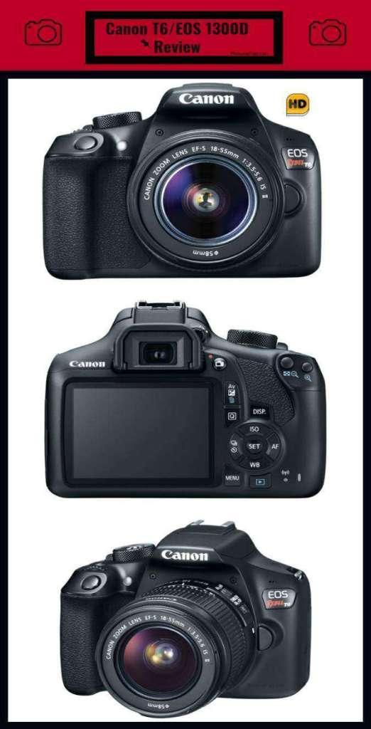 Canon T6/EOS 1300D Review Cheatsheet