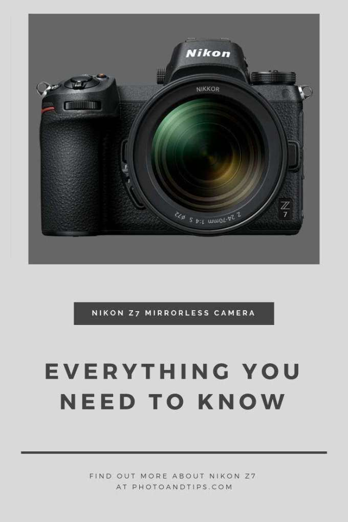 Find out more about Nikon Z7